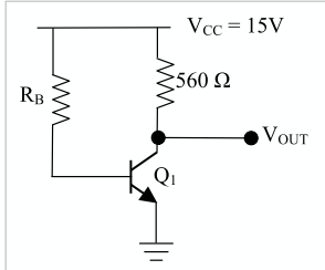 im having trouble analyzing the transistor. is it