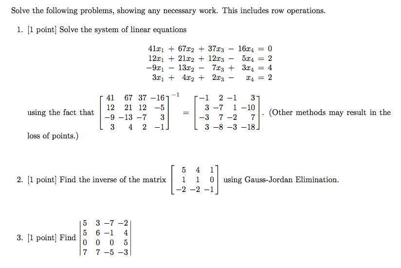3,000 Solved Problems in Linear Algebra (Ebook)