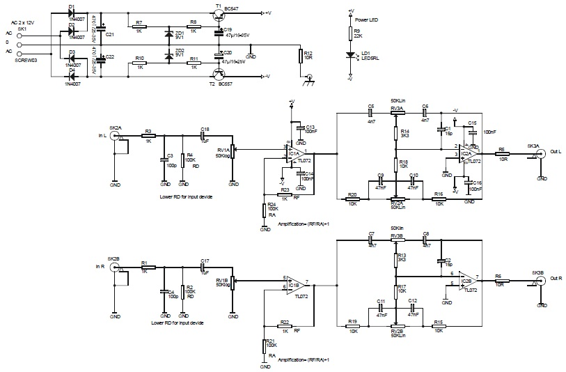 I need to reprresent this circuit as a block diagr