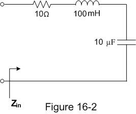 For the circuit shown in Figure 16-2, which of the