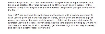 how to get integers from a text file c