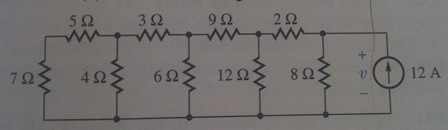 a). Using series/parallel resistance reductions, f