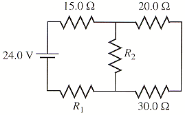 (a) What is the equivalent resistance of the circu