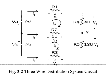 1. The actual direction of the netural current, I2