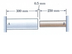 For the arrangement shown below, determine the lar
