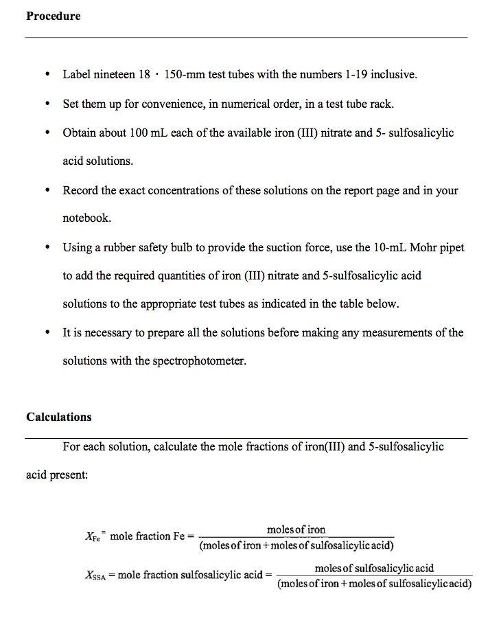 conclusion in a lab report High school chemistry lab report writing a conclusion is the last part of the  research paper, drawing everything together and tying it into your initial research.