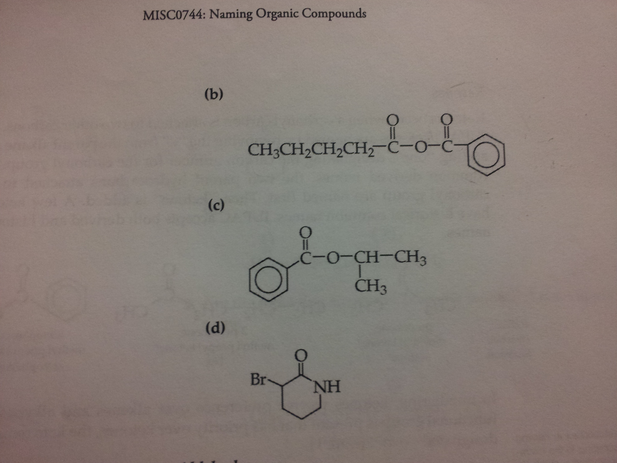MISC0744: Naming Organic Compounds