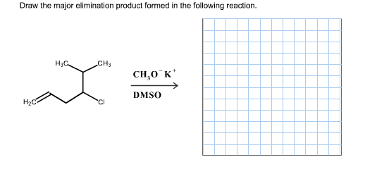 Draw The Major Product Formed In Following Reaction Include
