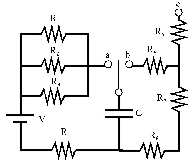solved  consider the rc circuit shown at the figure where