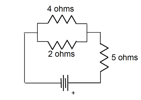 solved  in the circuit shown below  the current in the 2 o