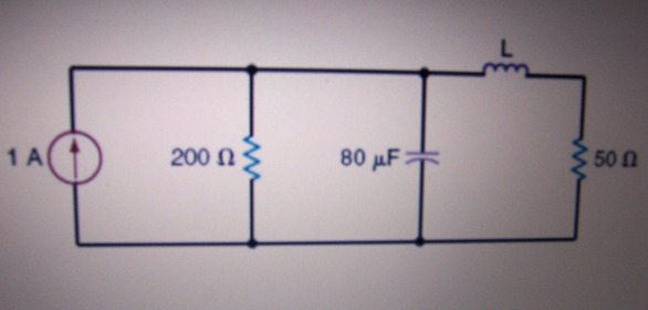 If the total energy stored in the circuit is 80 mJ