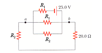 Consider the circuit shown in the figure above. (A