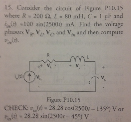 Consider the circuit of Figure PI0.15 where R = 20