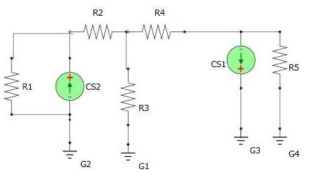 : For the circuit below, Figure 3: a) How many n