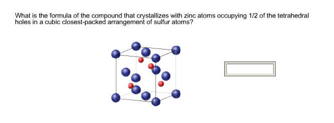 What is the formula of the compound that crystalli