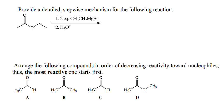 Provide a detailed, stepwise mechanism for the fol