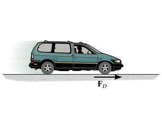 For a short period of time, the frictional driving