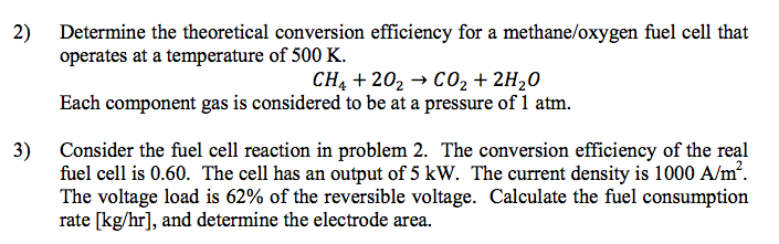 Determine the theoretical conversion efficiency fo