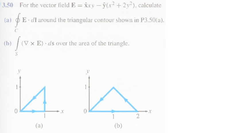 For the vector field E = x^xy - y^(x2 + 2y2), calc