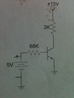 Determine IB, IC, and VCE for the circuit below. I