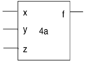 4. (a) Draw the circuit corresponding to Verilog m