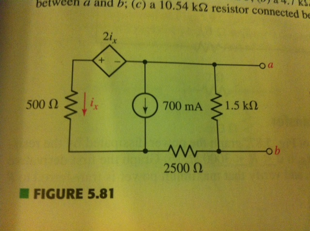 determine the norton equivalent of the circuit bel