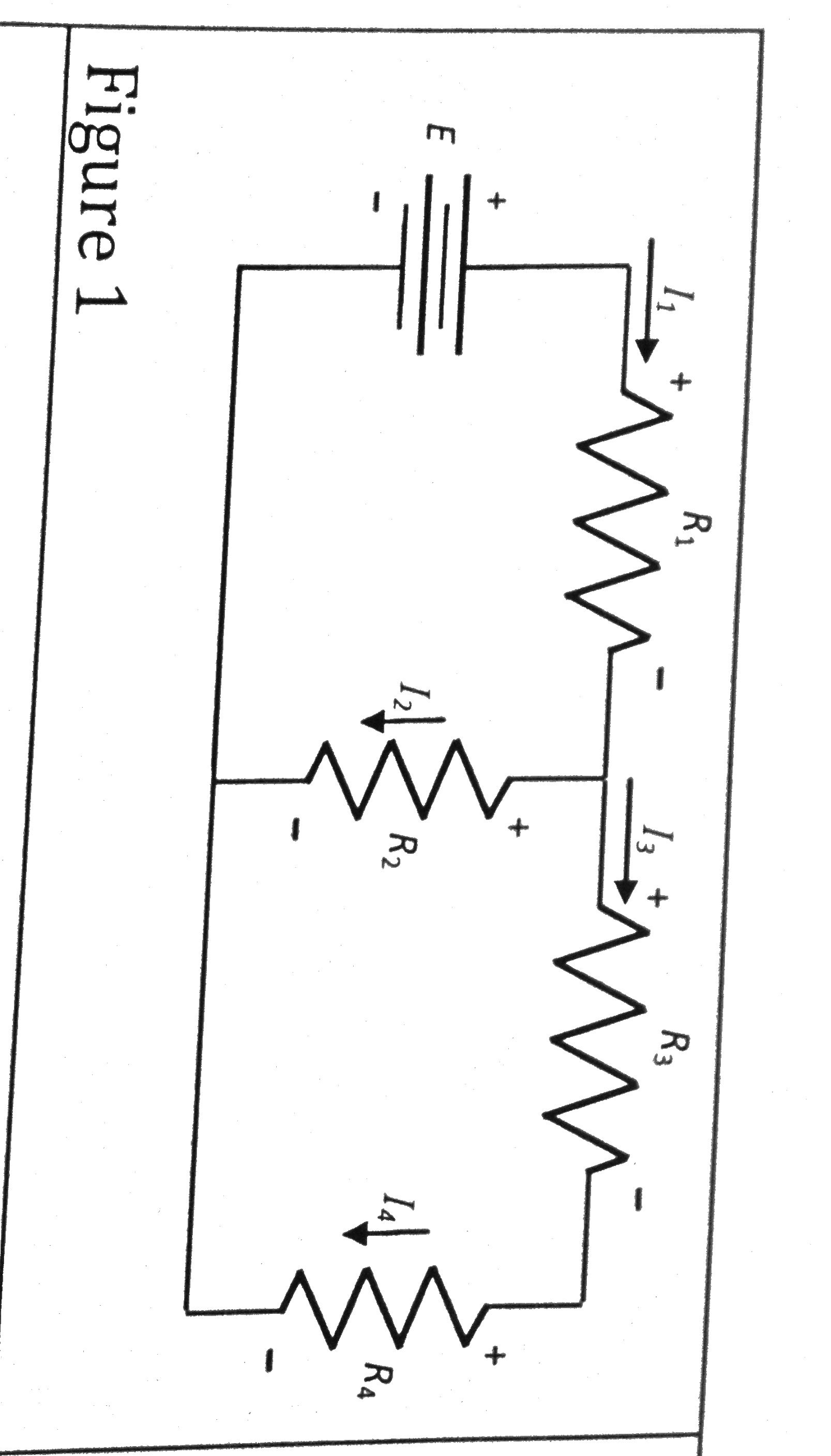 In figure 1, R1 = R2 = 2 Ohms and R3 = R4 = 1 Ohm.