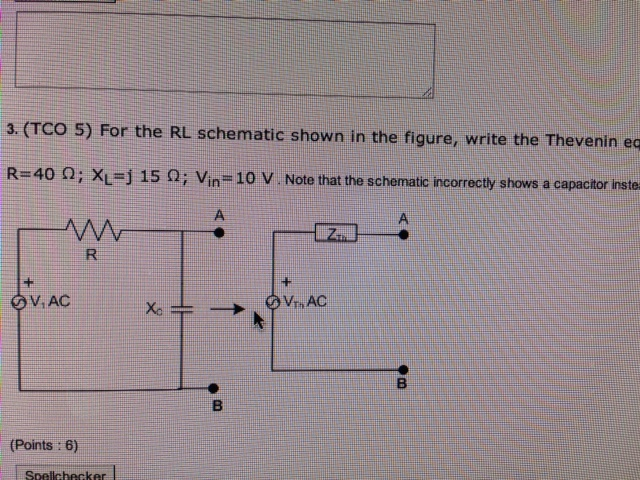 (TCO 5) For the RL schematic shown in the figure,