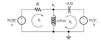 Solve for the node voltage shown in the figure. As