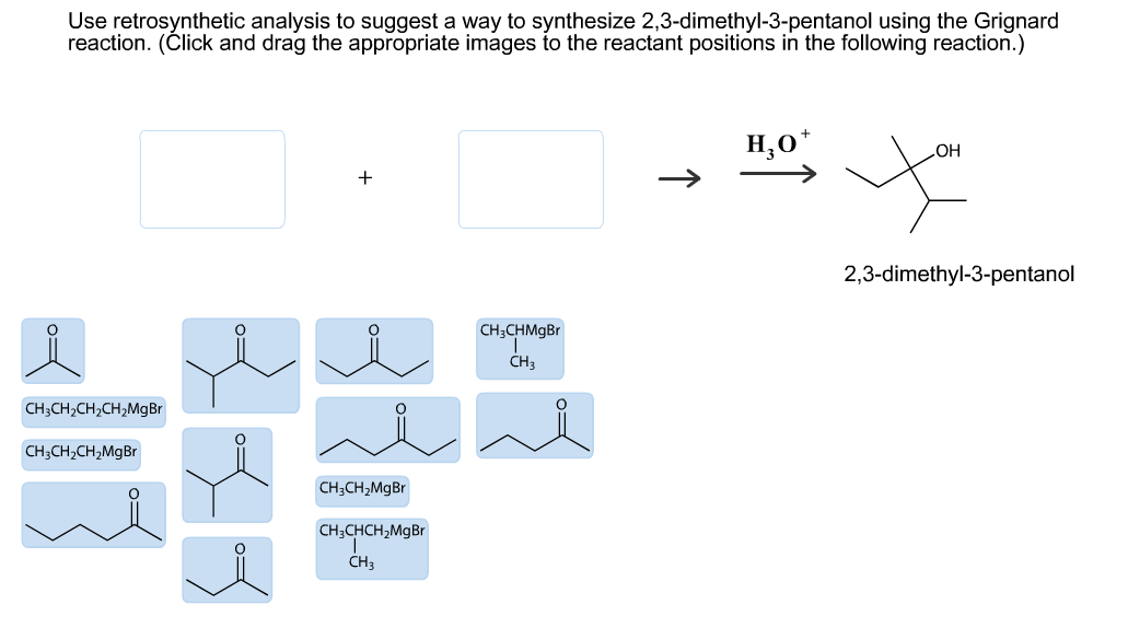 Use Retrosynthetic Analysis To Suggest A Way To Sy      Chegg com Chegg Image for Use retrosynthetic analysis to suggest a way to synthesize     dimethyl