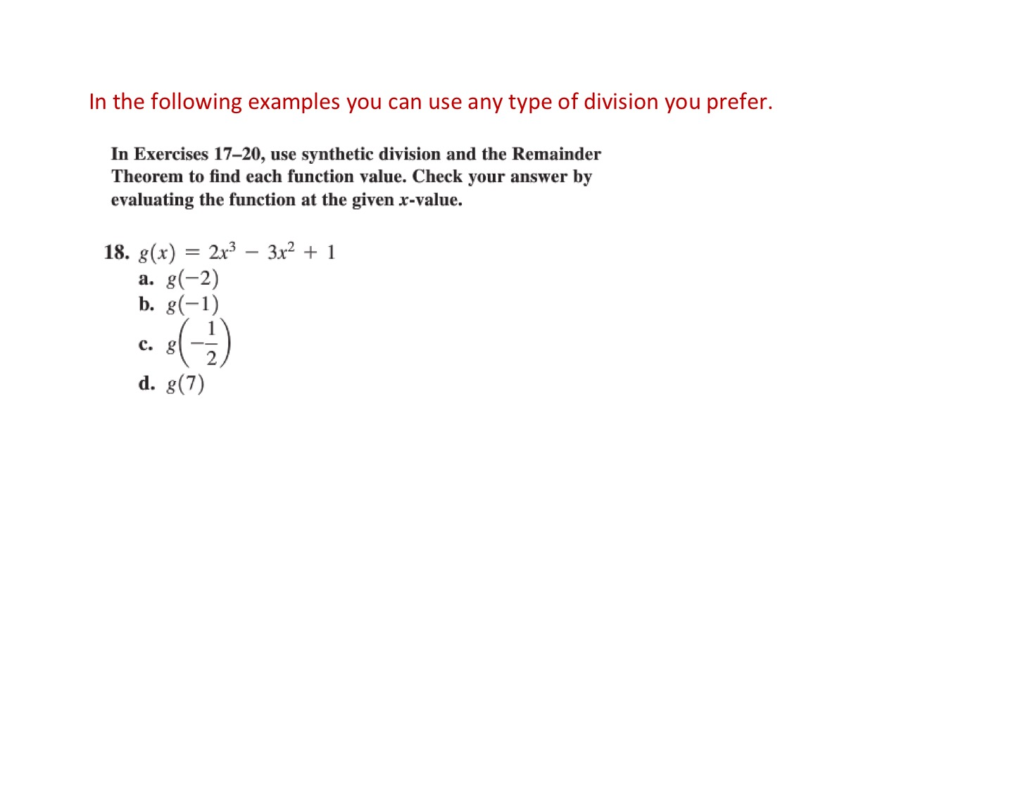 Math celebrity synthetic division worksheet