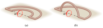 The drawing shows a coil of copper wire that consi