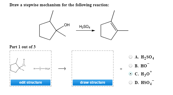 Draw A Stepwise Mechanism For The Following Reaction | Chegg.com