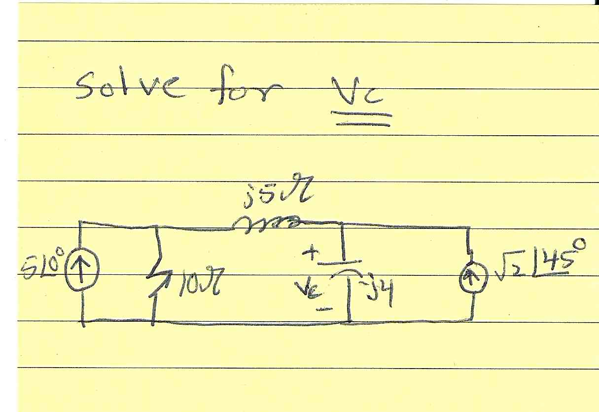 Solve for Vc