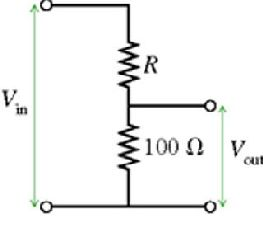 The circuit in the figure (Figure 1) is called a v