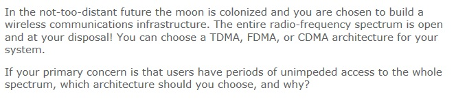 In the not-too-distant future the moon is colonize