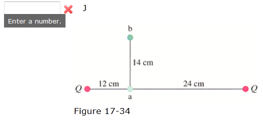 A Q = +33 µC point charge is placed 36 cm from an