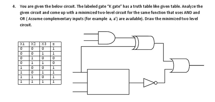 You are given the below circuit. The labeled gate
