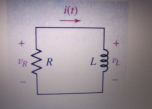 For the simple RL circuit shown below, R is known