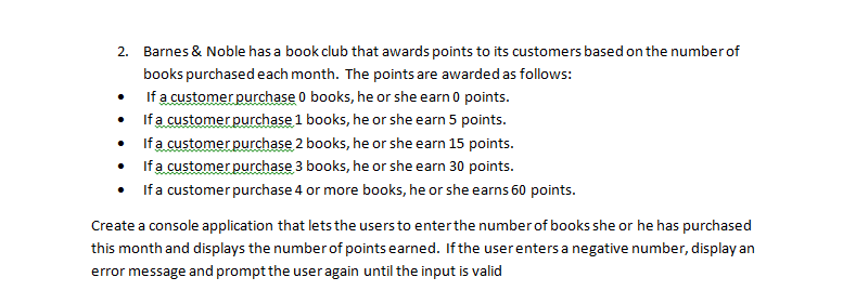 Barnes & Noble has a book club that awards points