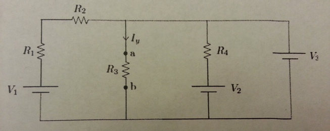 1. Compute the Thevenin equivalent circuit as seen