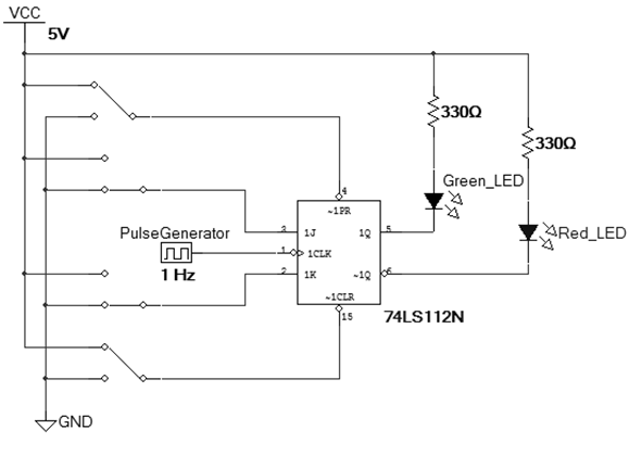 Increasing the pulse generator to 100kHz and set s