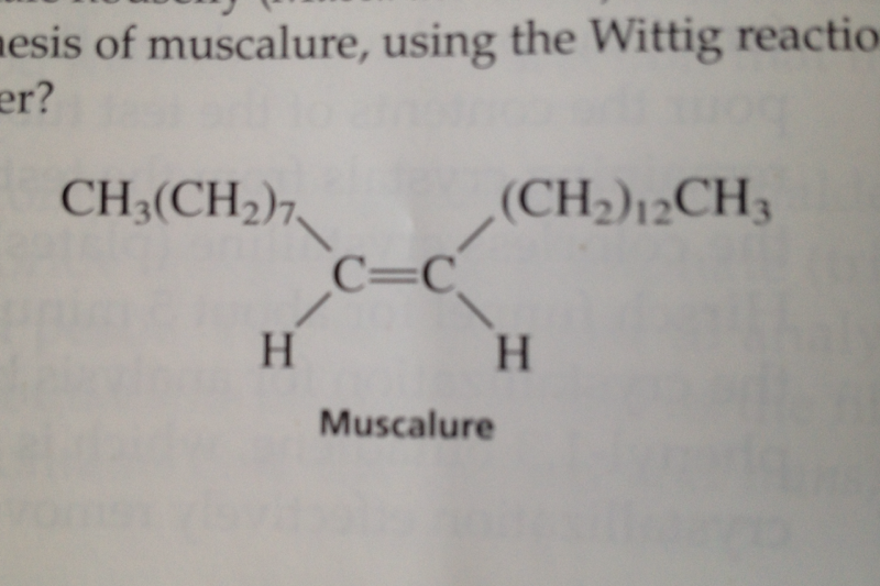 The wittig reaction is used for this experiment. I