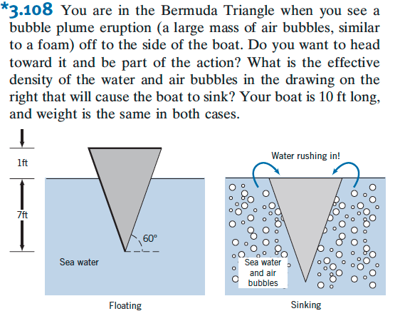 You are in the Bermuda Triangle when you see a bub