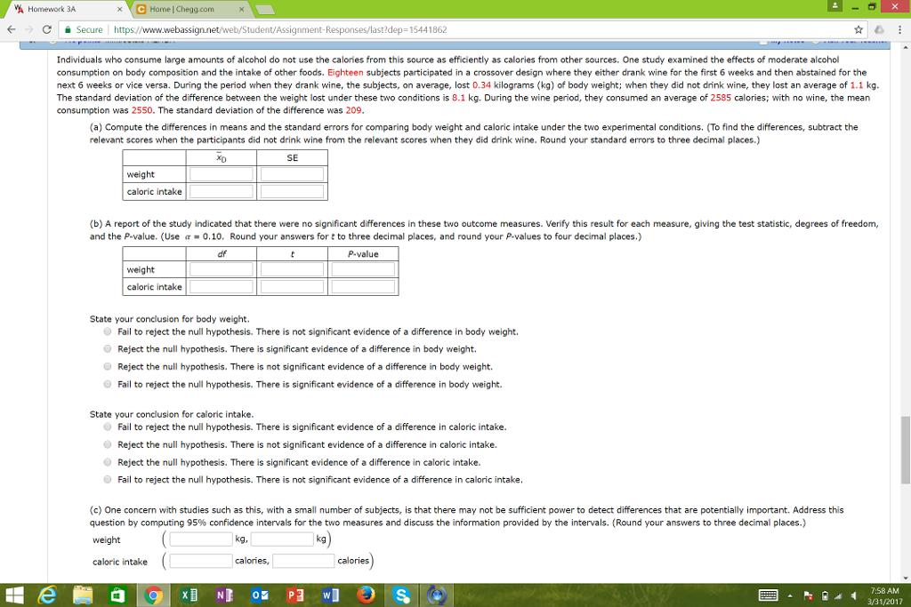 Webassign homework help