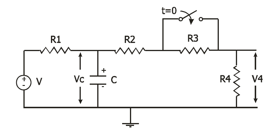 - Initially the circuit of Figure 1 (above) is ?dr