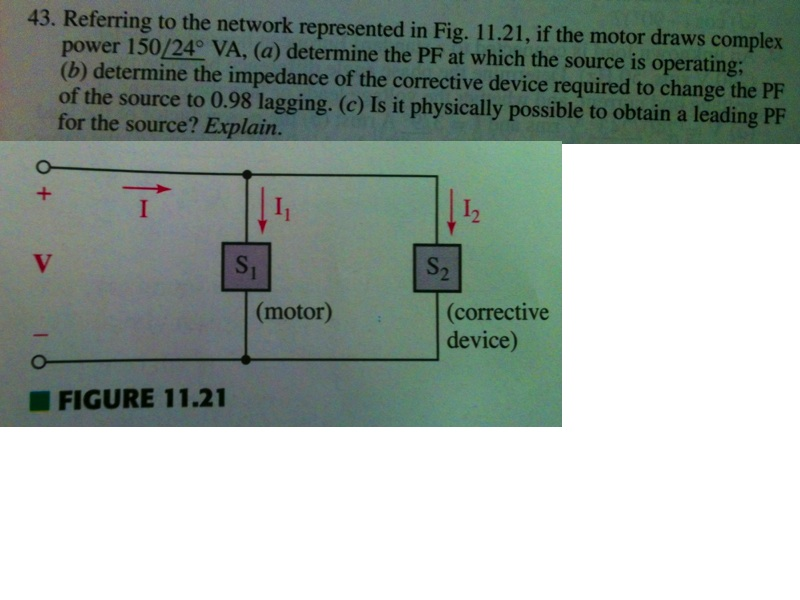 Referring to the network represented in Fig. 11. 2