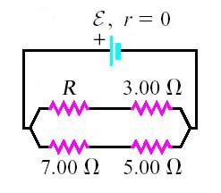 B. Find the current in the 1.25\Omega resistor. C.