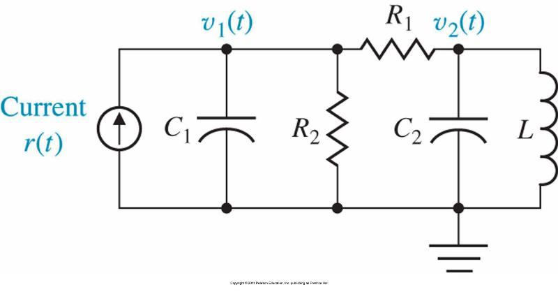 please help me solve this circuit in s Domain!