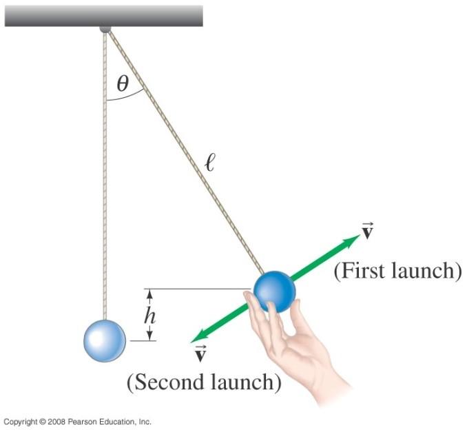 Consider, Calculating the speed of a swinging pendulum bob confirm